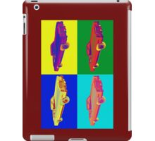1975 Cadillac El Dorado Convertible Pop Art iPad Case/Skin