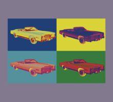 1975 Cadillac El Dorado Convertible Pop Art Kids Clothes