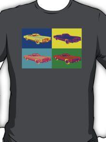 1975 Cadillac El Dorado Convertible Pop Art T-Shirt
