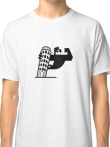 King Kong on Pisa Tower Classic T-Shirt