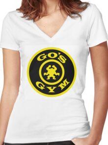 Pokemon Go Gym logo Women's Fitted V-Neck T-Shirt