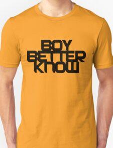 Boy Better Know - Chest Placement (black) T-Shirt