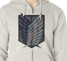 Scouting Legion Attack on Titan Zipped Hoodie