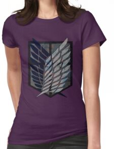 Scouting Legion Attack on Titan Womens Fitted T-Shirt