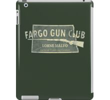 Fargo Gun Club iPad Case/Skin