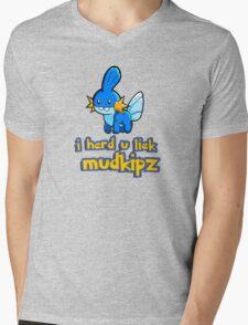 So I heard you like mudkips (I Herd U Liek Mudkipz) Mens V-Neck T-Shirt