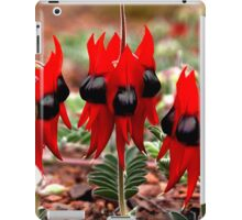 Spring in the Outback: Sturt's Desert Pea  iPad Case/Skin