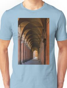 Red portico in Bologna Unisex T-Shirt