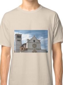 White church from Assisi. Classic T-Shirt