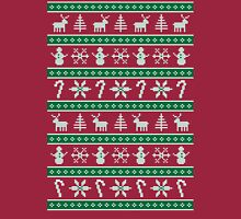 ugly christmas sweater pattern Long Sleeve T-Shirt