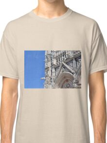 Detail of basilica from Siena with decorations. Classic T-Shirt