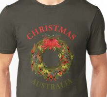 Christmas Wreath Australia Unisex T-Shirt