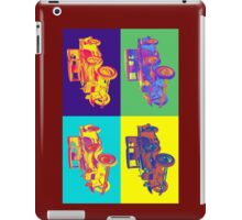 Colorful 1930 Model A Ford Pickup Truck Pop Art iPad Case/Skin