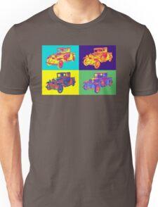 Colorful 1930 Model A Ford Pickup Truck Pop Art Unisex T-Shirt