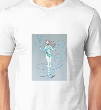 Air Elemental Lady Unisex T-Shirt