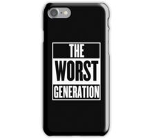 The Worst Generation iPhone Case/Skin