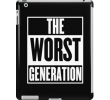 The Worst Generation iPad Case/Skin
