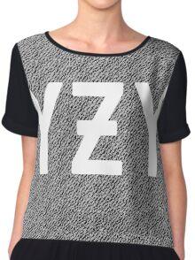 YEEZY - YZY Women's Chiffon Top