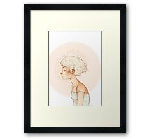 Aw Baby Yr Sunburned Framed Print