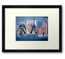 A Wonderful Military Opportunity For You Framed Print