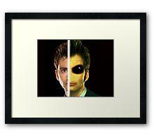 Doctor Who Alien - Tenth Doctor Framed Print