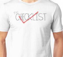 The Checklist Unisex T-Shirt
