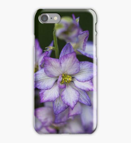 Purple Delphinium Spike iPhone Case/Skin