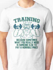 Training For Revenge - coloured Unisex T-Shirt