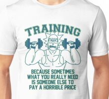 Training For Revenge - coloured Unisex T-Shirt
