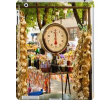 Market Scale iPad Case/Skin
