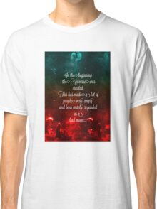 Hitchhiker's Guide Quote Classic T-Shirt