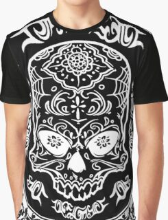 Skull Lace Graphic T-Shirt