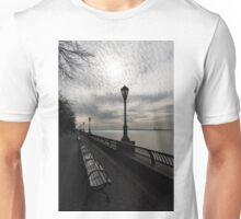 Lines and Patterns - Perspective Study at Manhattan Esplanade  Unisex T-Shirt