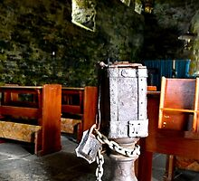 The Receiving Box of St. Moluag's Church by Aaron McKenzie