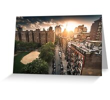 chinatown in new york Greeting Card