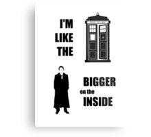 Like the TARDIS - Doctor Who Metal Print