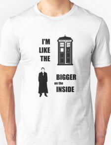 Like the TARDIS - Doctor Who Unisex T-Shirt