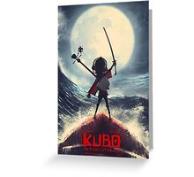 Kubo and the two strings Greeting Card
