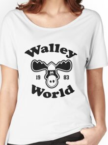 Marty Moose Walley souvenir Women's Relaxed Fit T-Shirt