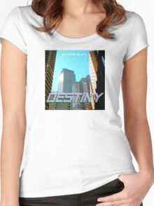 Casios Clay - Destiny Album Art Women's Fitted Scoop T-Shirt