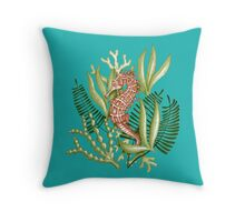 Hippocampe Throw Pillow