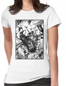 Junji Ito Spider Demon Womens Fitted T-Shirt
