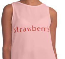 Strawberries Contrast Tank