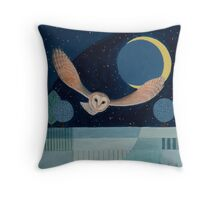 Moonflight Throw Pillow
