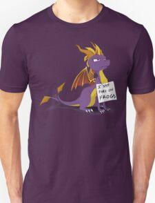 "Spyro Shaming: ""I SPIT FIRE ON FROGS"" T-Shirt"