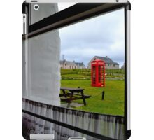 Red Telephone Booth iPad Case/Skin