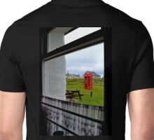 Red Telephone Booth Unisex T-Shirt