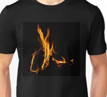 Hot - Cosy Fire in the Hearth Unisex T-Shirt