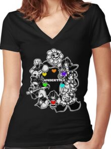 Undertale XXV Women's Fitted V-Neck T-Shirt