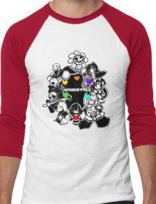 Undertale XXV Men's Baseball ¾ T-Shirt
